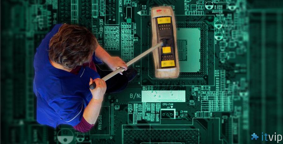 informatyk to sprzątaczka ITvip